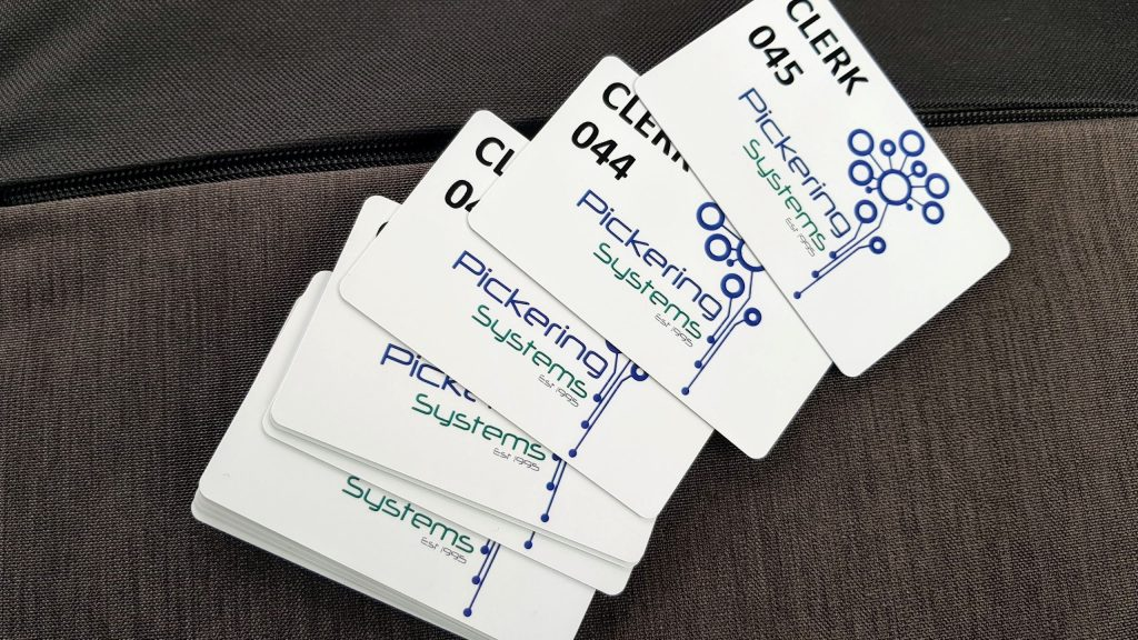 Printed Clerk Cards